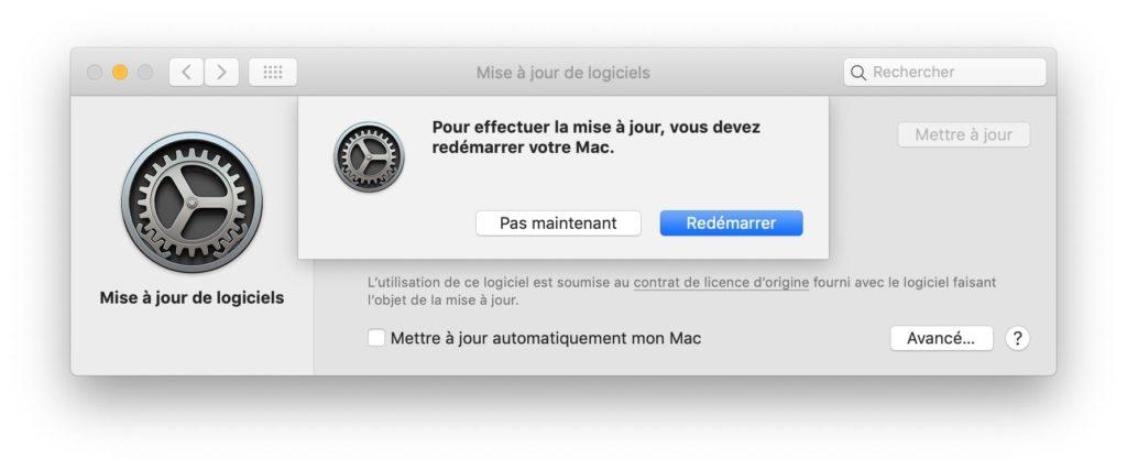 Actualización adicional de macOS 10.14.3 5