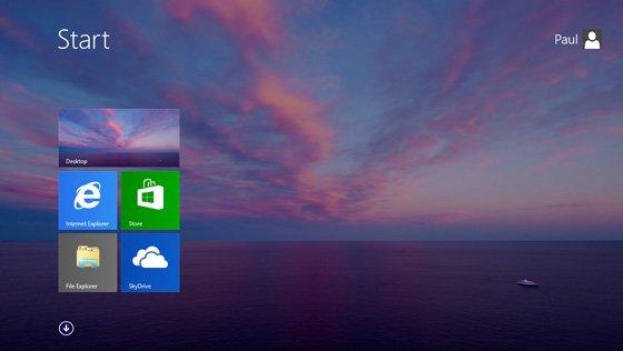 Las imágenes filtradas de Windows 8.1 muestran el botón Inicio 3