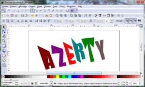 Inkscape, transformación de personajes