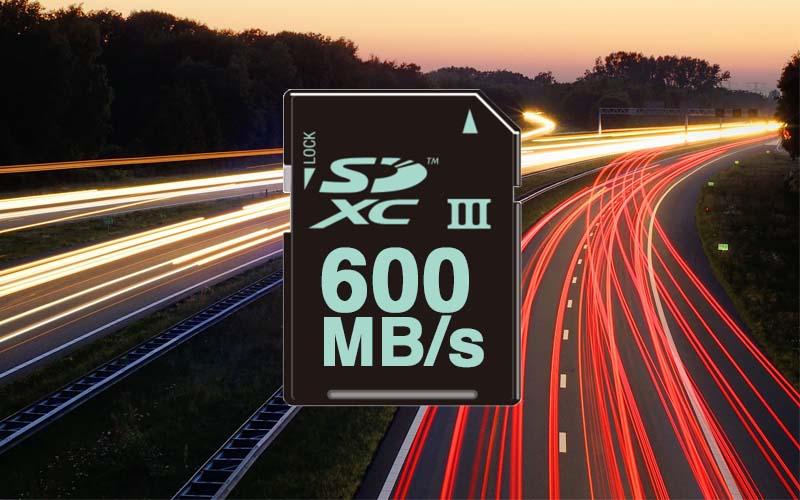 Tarjetas de memoria SD: la próxima versión permitirá más de 600 MB/s