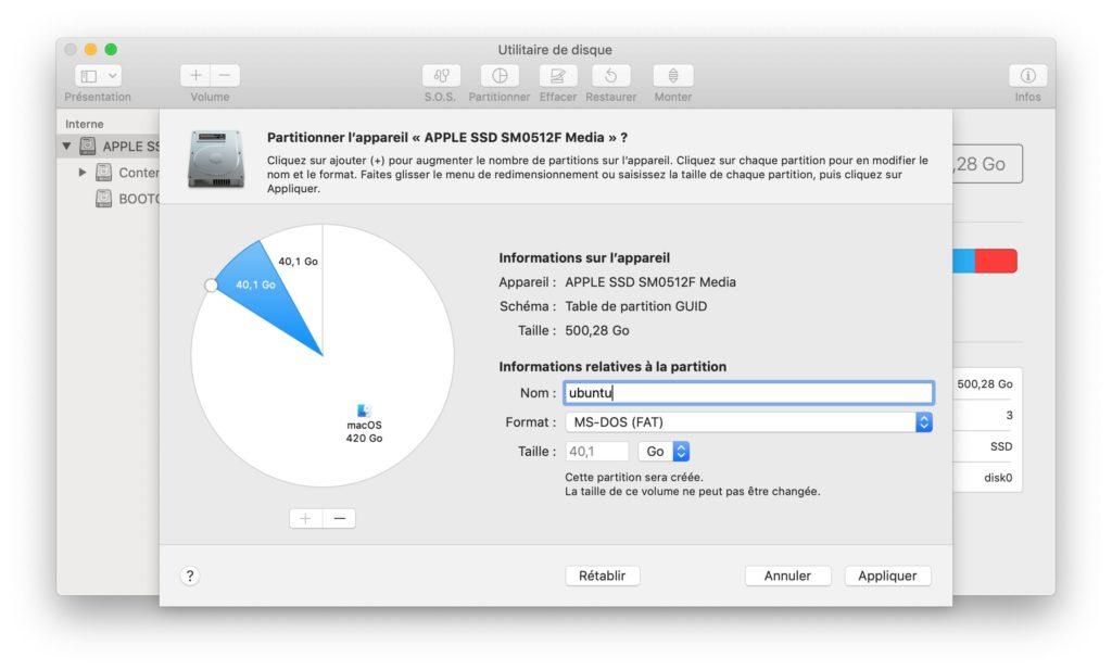 MacOS de arranque triple Mojave Windows 10 Linux
