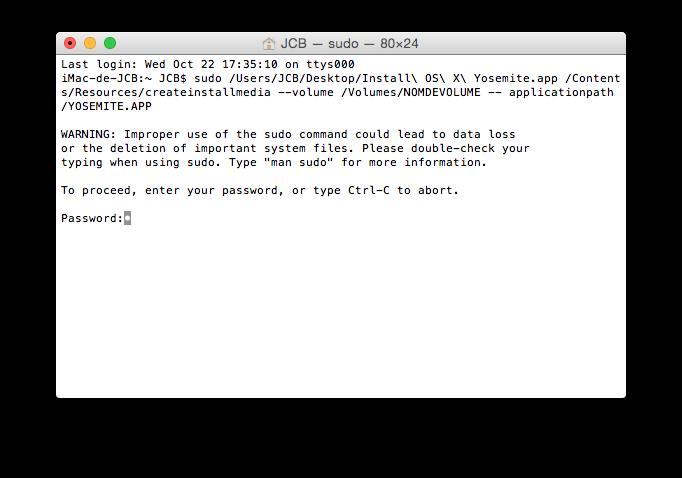 Cómo crear un disco de recuperación de Yosemite (Mac OS X 10.10) 3
