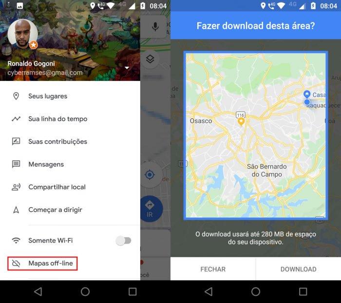 Cómo guardar una ruta en Google Maps 3