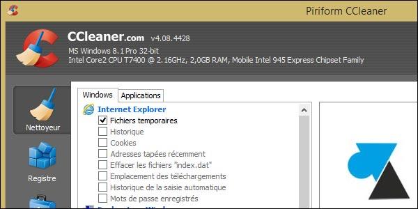 Cómo desactivar la monitorización activa en CCleaner Free