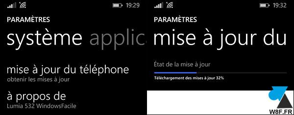 Actualización de Windows Phone 8 a Windows 10 Mobile smartphone 4