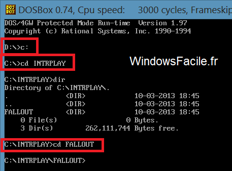 Windows 8: Juegos de DOS 19