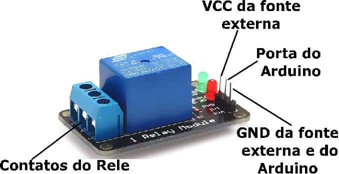 Arduino Uno - Clase 11 - Disparando una carga con el uso de un relé - parte 2 20