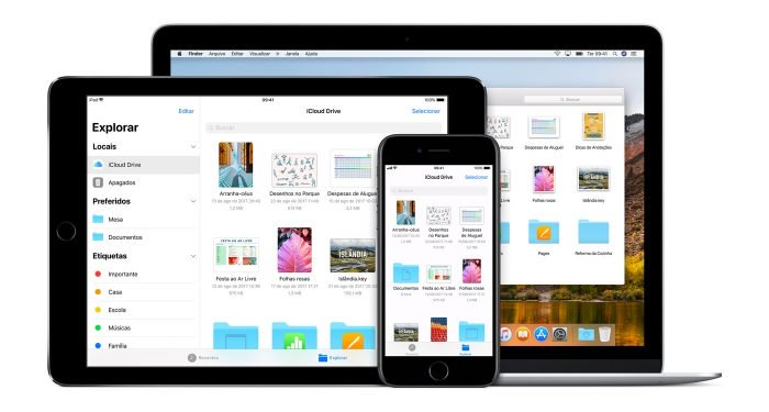 Apple almacena los datos de iCloud en Amazon y Google Clouds