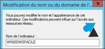 Windows Server 2012 / R2: cambiar el nombre del equipo