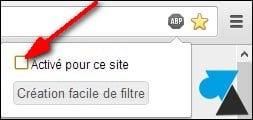 Bloquear anuncios en Internet (Google Chrome)