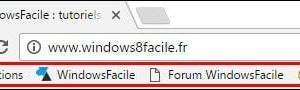 Google Chrome: añadir un nuevo favorito