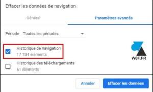 Google Chrome: eliminar el historial de Internet