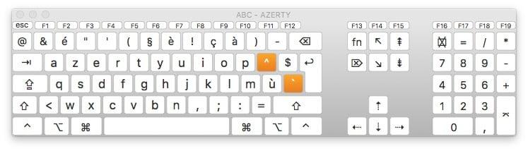 Habilitar el teclado virtual de macOS Sierra (10.12)