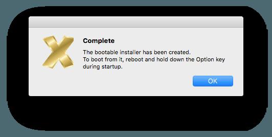 USB de arranque Mac OS X pour Lion, Mountain Lion, Mavericks, Yosemite, El Capitan, macOS Sierra