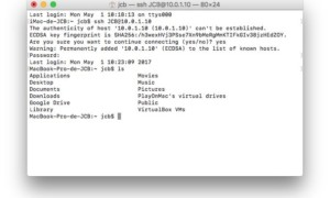 Cliente Mac SSH: conexión en modo seguro a un servidor, una máquina local, remoto......