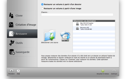 Clone El Capitan Mac OS X (10.11) : copia perfecta en disco