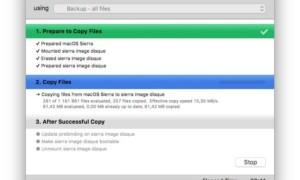 Clonar macOS Sierra (10.12): en un disco, archivo de imagen, servidor NAS....