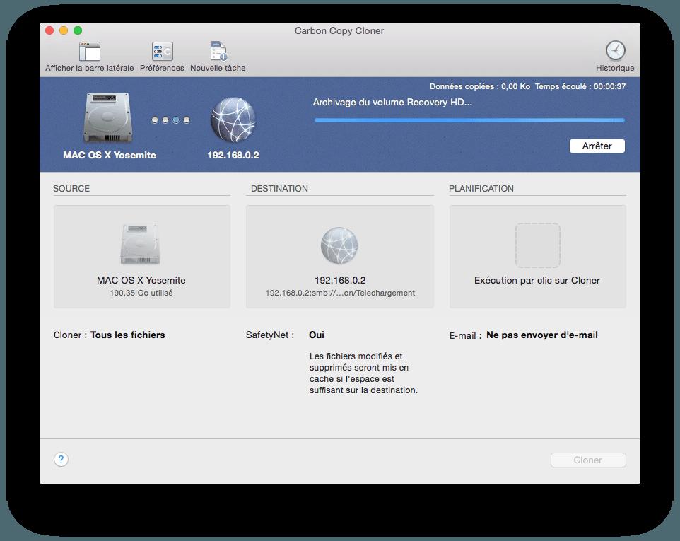 Cómo clonar Yosemite (Mac OS X 10.10)