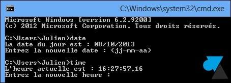 Cambiar la fecha y la hora del ordenador