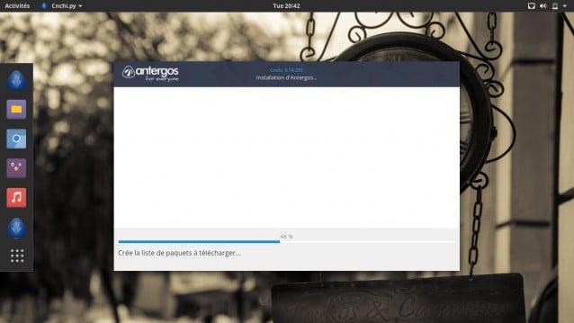 Instala Antergos 17.10 y elige tu entorno de escritorio