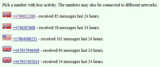 Evite la verificación por SMS en cualquier sitio 2