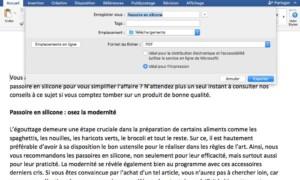 Convertir un archivo de Word a PDF en Mac