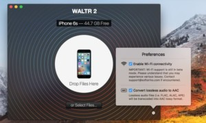 Copia un vídeo a un iPhone en USB o WiFi sin iTunes