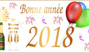Feliz 2018 con el software de dibujo vectorial