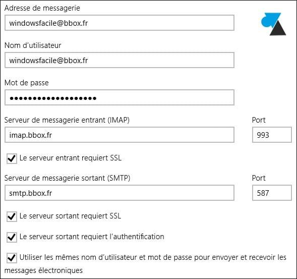 Mail: añadir una dirección Bouygues / BBox