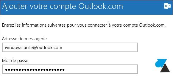Mail: añadir una dirección de Hotmail / Outlook