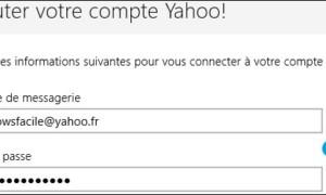 Mail: añadir una dirección de Yahoo
