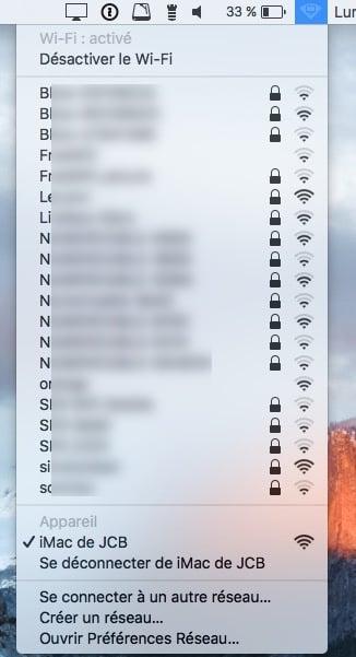 Crear una red WiFi en Mac OS X El Capitan para invitados (ad hoc)