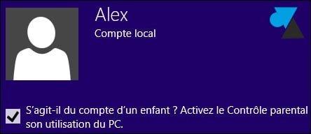 Crear una nueva cuenta de usuario de Windows 8