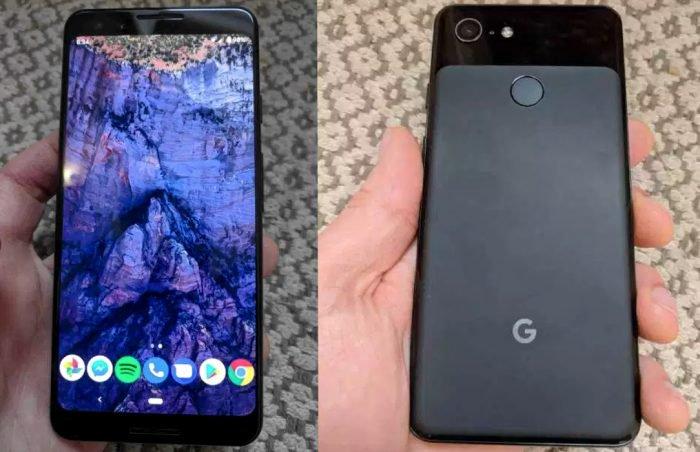 Las primeras fotos de Google Pixel 3 sin muesca