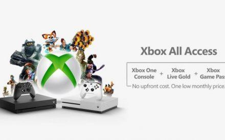 Xbox All Access es un servicio de suscripción con consola, Xbox Live y Game Pass