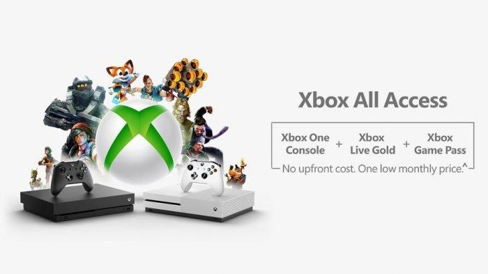 Xbox All Access es un servicio de suscripción con consola, Xbox Live y Game Pass 1