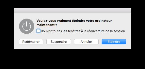 Apaga tu Mac rápidamente: apaga, espera, cierra la sesión...... 1