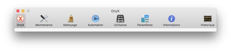 Onyx macOS Sierra (10.12) : instrucciones de uso 1