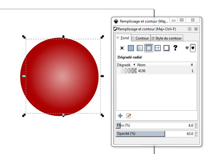 Cómo dibujar una pelota de Navidad con Inkscape 6