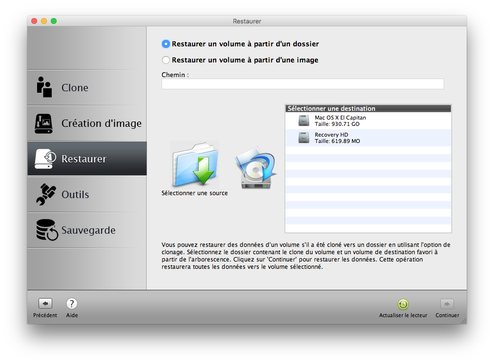 Clone El Capitan Mac OS X (10.11) : copia perfecta en disco 9