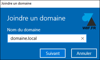 Windows 10 (1709): unirse a un dominio local 7