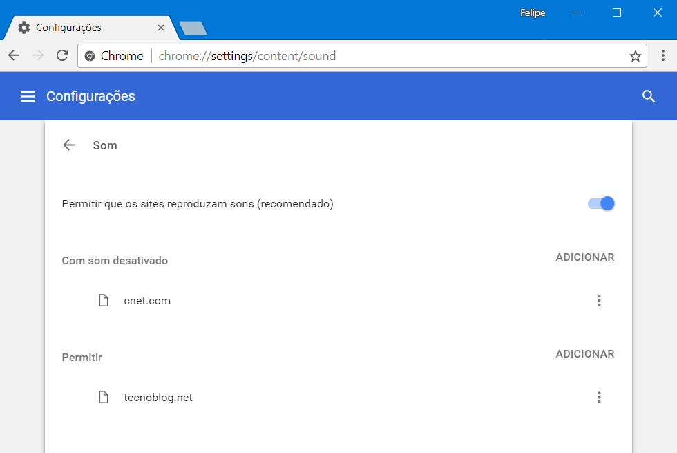Google Chrome aprende a silenciar los sitios web en función de tu historial de navegación 2