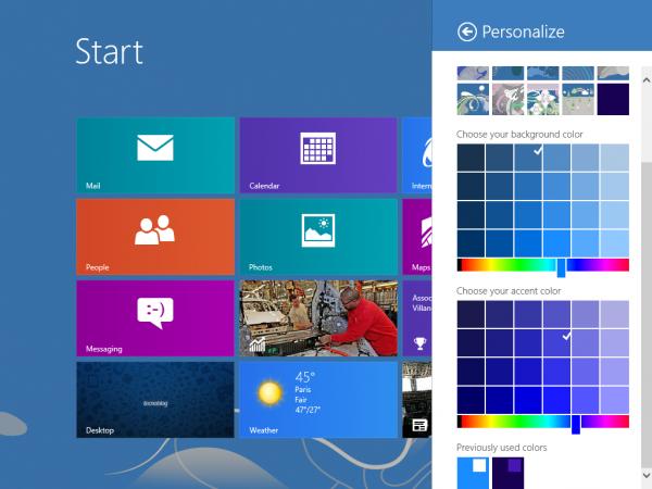 Rumor del día: Windows 8.1 tiene el botón Inicio y la opción de omitir la interfaz de Metro al inicio. 1