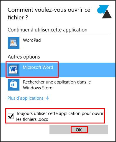 Abrir archivos DOC y DOCX con Word 3