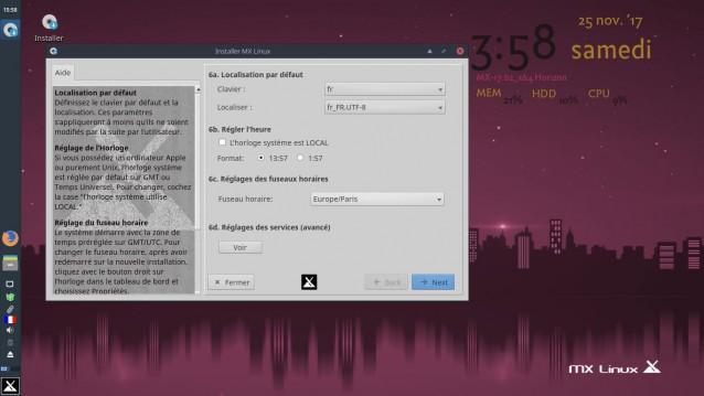 Instalé MX Linux 17 Beta 2 11