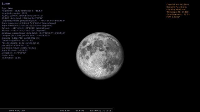 Cabeza en las estrellas con Stellarium 10