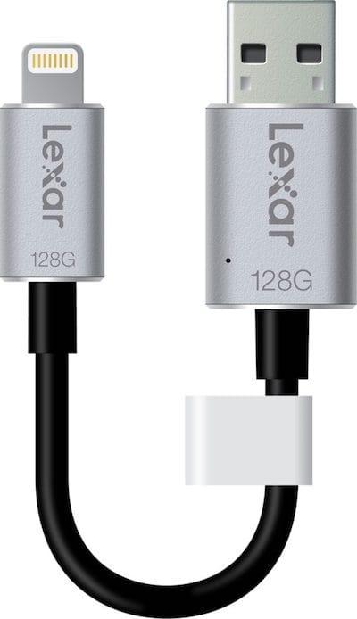Conecte una llave USB a un iPhone / iPad / iPod 1