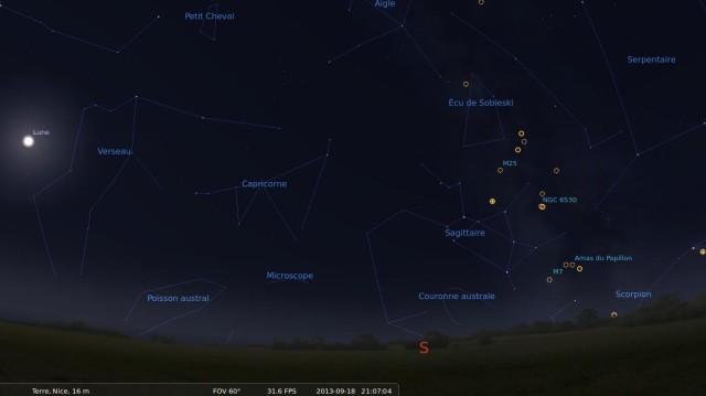 Cabeza en las estrellas con Stellarium 9