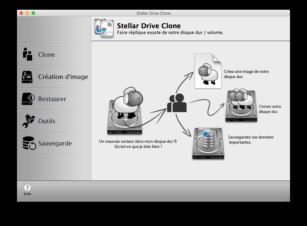 Clone El Capitan Mac OS X (10.11) : copia perfecta en disco 1