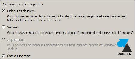 Restaurar un archivo con la herramienta Copia de seguridad de Windows Server 5